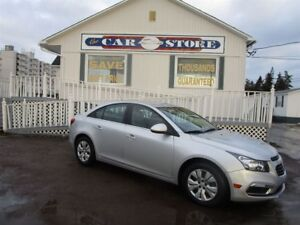 2016 Chevrolet Cruze LT RARE 5SP GAS SAVER AIR CRUISE