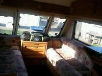 Caravan 2 berth swift challenger 480SE