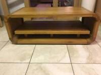 TV unit / Coffee table, solid oak