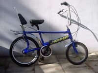 Chopper By Raleigh, Blue, A True British Classic, Totally Pimped !! JUST SERVICED/ CHEAP PRICE!!!!!!