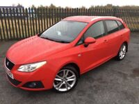 2010 60 SEAT IBIZA SPORT CR TDi 1.6 *DIESEL* ESTATE CAR, *ONLY 2 FORMER KEEPERS* - OCT 2018 M.O.T!