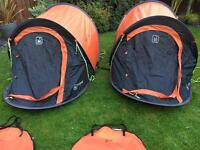 Hi Gear x2 Pop Up Tents