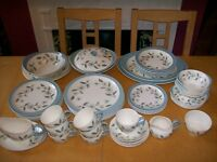 "Wedgwood ""Penshurst"" 46 piece Dinner and Tea set"