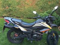 Keeway TXM 125 motorbike