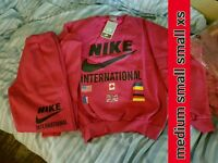 Ladies Nike tracksuits. All sizes