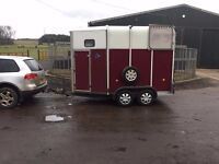 Ifor William horse trailers - choice of two ...