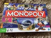 Monopoly Disney edition golden tinker bell board game