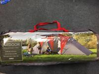 6 person family tent from Tesco brand new