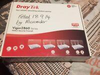 DrayTek Vigor2860 Series - VDSL2 Security Firewall - Router / Networking