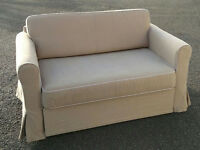 Ikea 2 Seater Sofa BED in Very Good Condition, FREE DELIVERY
