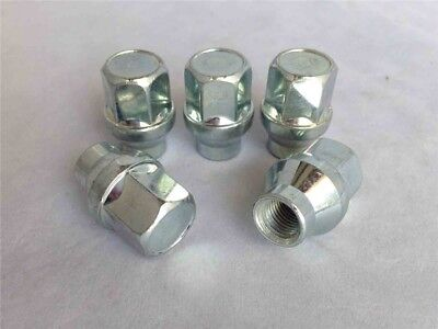 Conjunto De 5 Rueda Tuercas Para Alloy wheels M12 X 1.5 19mm...