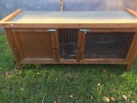 Hutch rabbit or guinea pig cage