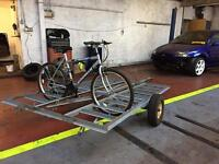 8. Bicycle trailer