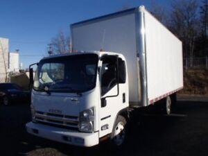 2012 Isuzu Truck ISUZU DSL REG. CAB / BOITE 20 PIEDS