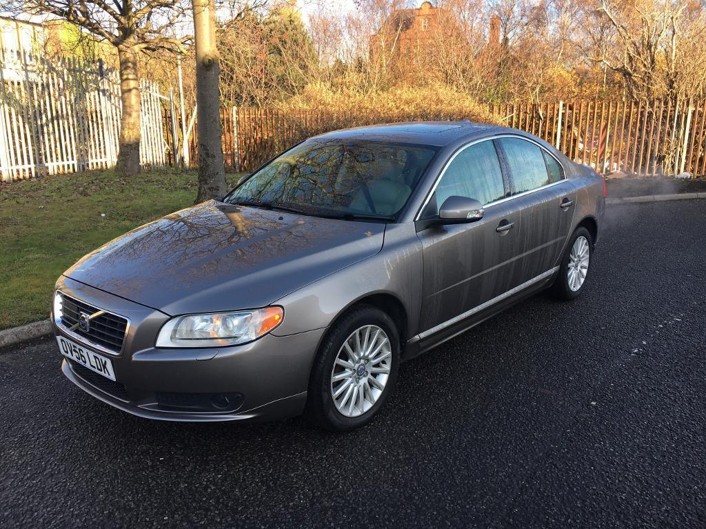 2007/56 Volvo S80 SE lux 4.4 V8 Auto 320BHP MONSTER✅30K + NEW FULL LEATHER