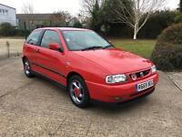1998 seat Ibiza gti cupra sport Same owner since 01 69k fsh rare car