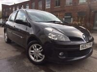 2008 - Renault Clio - 1.2 petrol - Turbo - one year mot - 3 former keepers - 5 Door