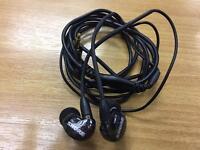 Shure SE215 in ear only headphones in black.