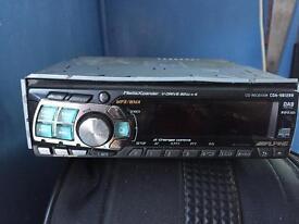 Alpine car stereo DAB