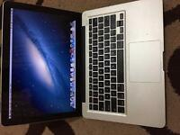 MacBook Pro mid 2009 ,2.53 core 2 due ,4gb ram ,250gb Sata disk