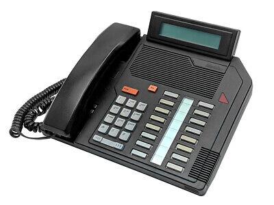 NORTEL MERIDIAN M2616 DIGITAL DISPLAY TELEPHONE W/ HEADSET AND CABLES NT2K16GH03 Nortel Meridian M2616 Display
