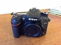 Nikon D7100 and Nikkor Lens 18-200 VR II - AS NEW!