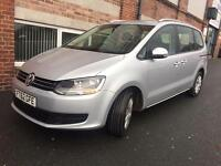 2012(62) VW SHARAN 2.0 TDI,DSG,START/STOP,LADY OWNER,PCO REGISTERED,MINT CONDITION