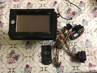 Sony car DVD system