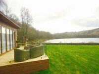 LUXURY CAMBRIAN LODGE FOR SALE NORTH WALES (STATIC CARAVAN)LAKE & MOUNTAINS VIEWS ON 5* PARK BRYNTEG