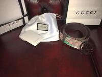 gucci bengal belt waist size 30-32
