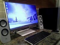 3.7Ghz i3 Skylake,8GB ram,GTX750ti Gaming PC setup