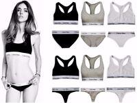 Calvin Klein Underwear Sports Bralette Bra & Thong,Bra & Brief Set With Box Only Wholesale