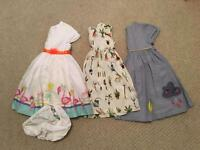 Dresses 12-18 months