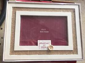 Grandad picture frame