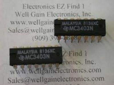 St Mc3403n Dip Quadruple Low-power Operational Amplifiers