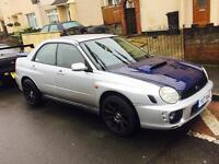 Subaru impreza GX, WRX Replica