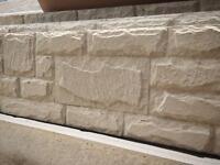 Double sided concrete Plinths / gravel boards