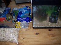 32 litre full set up fish tank