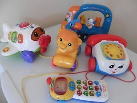 Big baby toy bundle VTech, Fisher Price £10 for all collection from Shephsed.