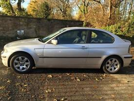 2002 BMW 320TD 3 Door Documented Service History Mot Till November 2017 Superb Condition