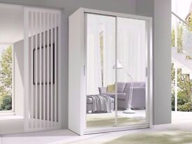 ▓▒░ SAME DAY DELIVERY ▓▒ Dextoria Sliding Door German Wardrobe - RRP£499!