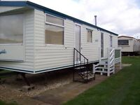 static caravan to hire rent let 3 bed 8 berth on sealands caravan park ingoldmells skegness