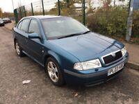SKODA OCTAVIA 1.8 TURBO ELEGANCE AUTOMATIC 2003 FULL HISTORY CLEAN CAR NEW MOT HPI CLEAR
