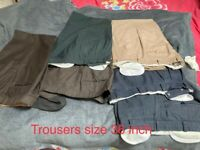 Several great quality Men's clothing available for quick sale