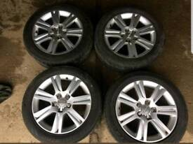 """Audi A4/A5 B8 8T 17"""" SE Alloys With Tyres"""