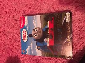 Thomas book with mat and figures