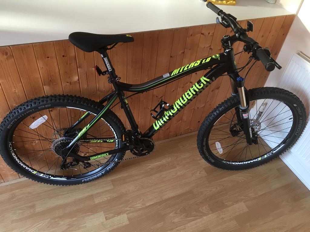 """Diamondback Myres 1.0 New Hardtail Mountain Bike 19"""" Frame"""