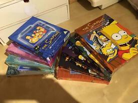The Simpsons Seasons 1-8 (+ Season 10)