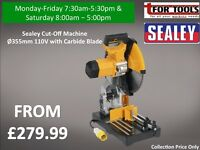 Sealey Cut-Off Machine Ø355mm 110V with Carbide Blade