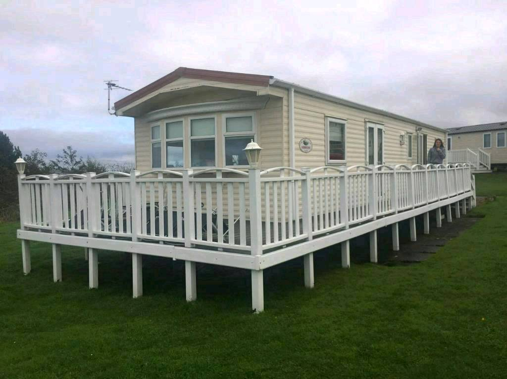 2005 .3 bedroom caravan for sale ,craigtara,ayrshire.